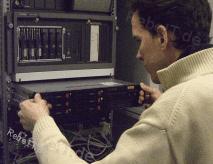 Ausbau eines Servers bei der Serveradministration